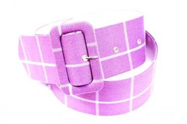Фиолетовые ремни